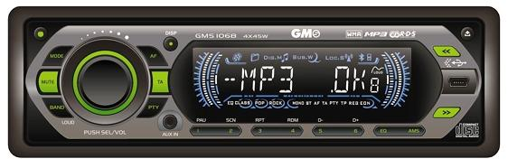GMS-1068 (CD-mp3+USB+SD)