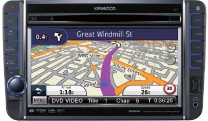 KENWOOD DNX520VBT (dla) VW Golf-5+inne +SEAT+SKODA