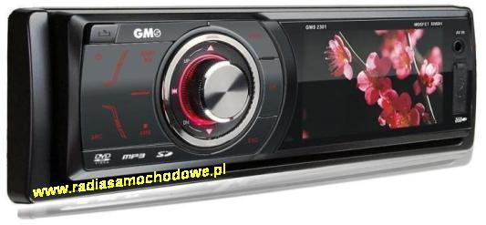 "GMS-2301 z LCD-3""+DVD+CD+USB+SD"