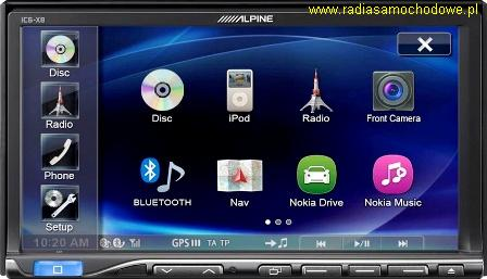 ALPINE iCS-X8 (2DIN)