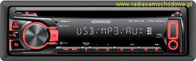 KENWOOD KDC-3054UR (mp3+AUX+USB)