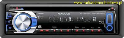 KENWOOD KDC-4654SD (mp3+USB+SD)