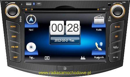 GMS Nawigacja do TOYOTA RAV4 2006-2012 razem z AutoMapa XL