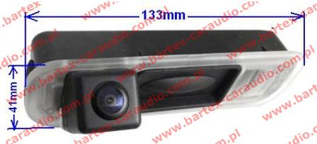 Kamera cofania do FORD Focus-3 klamka (GMS)