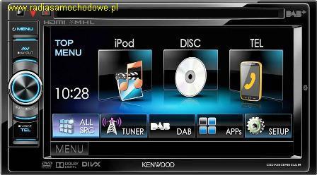 KENWOOD DDX5025DAB