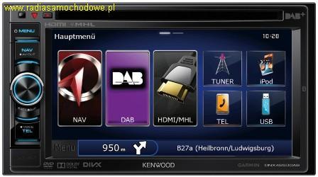 KENWOOD DNX4250DAB
