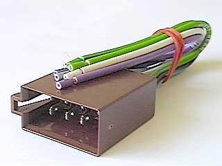 Złącze ISO-rozdzielone - gniazdo głośnikowe