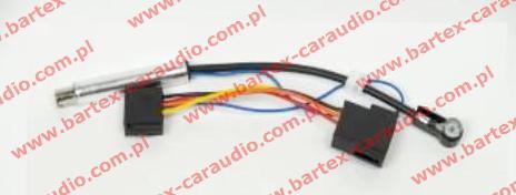 # Separator antenowy ISO<->ISO +zasilanie