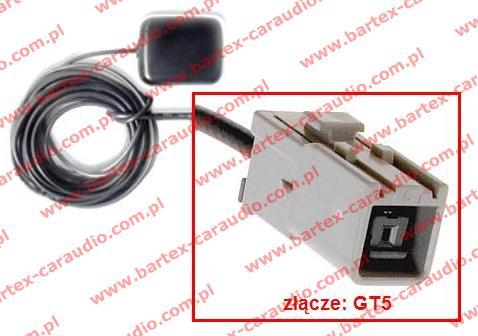 Antena GPS magnetyczna ze złączem GT5