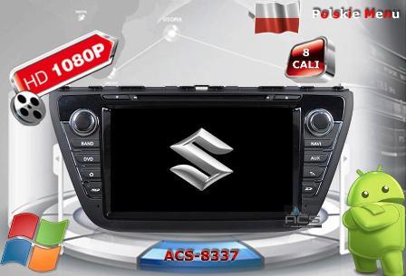 ACS Nawigacja do Suzuki SX4 S-Cross 2013-> z ANDROID