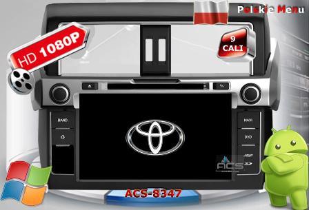 ACS Nawigacja do Toyota Land Cruiser Prado J150 2014-> +Lexus