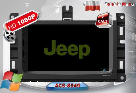 ACS Nawigacja do JEEP+Chrysler+DODGE 2013->