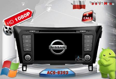 ACS Nawigacja do NISSAN Qashqai J11 2013-> +inne
