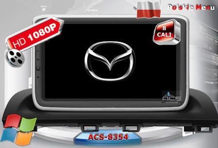ACS Nawigacja do Mazda 3 2013->