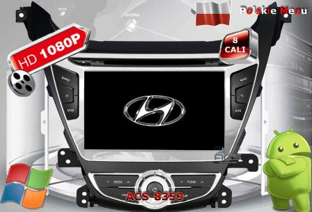 ACS Nawigacja do Hyundai ELANTRA 2013->