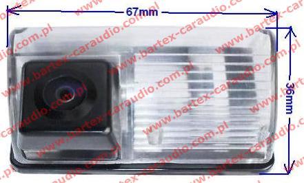 Kamera cofania do Toyota Corolla E12 + Avensis T25 (ACS)