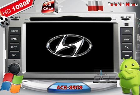 ACS Nawigacja do Hyundai SANTA FE 2007-2013