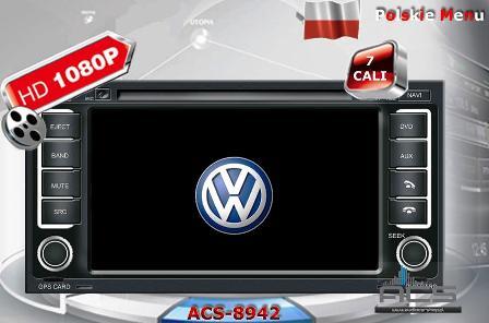 ACS Nawigacja do Volkswagen Touareg + Multivan T5