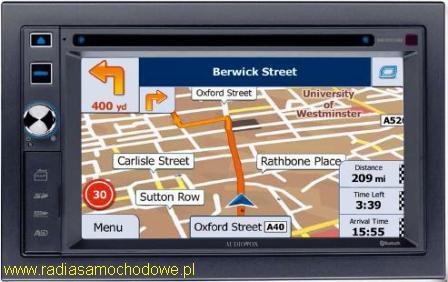 AUDIOVOX VME 9125 NAV z mapami iGo Primo 2