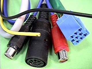 Adapter-Złącze Kabel do zmieniarki CD Panasonic <-> VW-ISO_8Pin