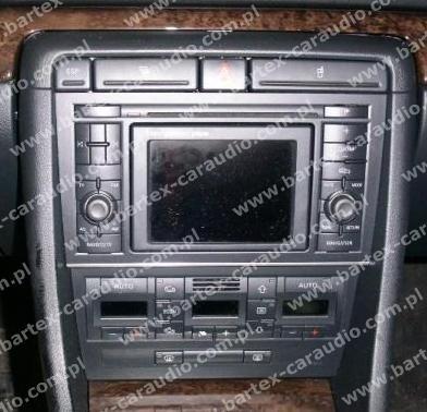 ramki radiowe g o nikowe audi audi a4 2002 2006 b6 ramka. Black Bedroom Furniture Sets. Home Design Ideas