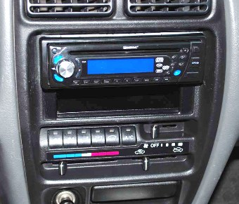Suzuki BALENO 1994-> ramka pod radio 1DIN lub 2DIN