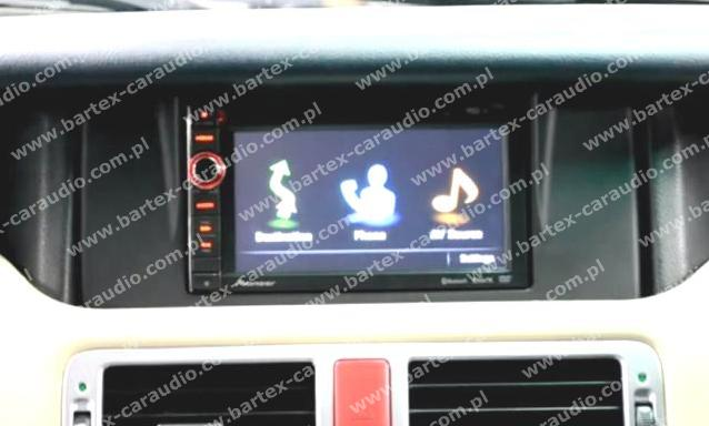 *USŁUGA: zamontowanie uniwers.2DIN do Range Rover Vogue L322