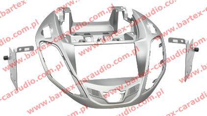 Ford B-Max 2012-> ramka SZARA pod radio 2DIN