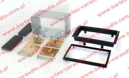Fiat DUCATO 2007-> ramka+półkieszeń pod radio 2DIN