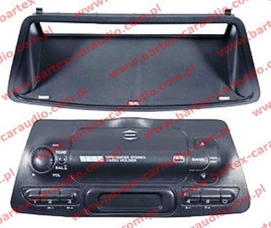 Fiat BRAVA/O+MAREA zestaw ramek pod radio 1DIN