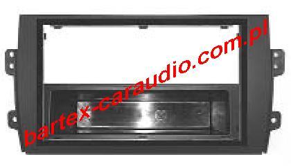 Fiat SEDICI 2006-2014 ramka pod radio 1DIN