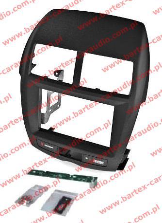 Mitsubishi ASX 2010-2016 ramka-konsola pod radio 2DIN