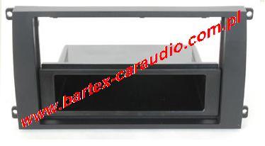 Porsche Cayenne 2002-2010 ramka pod radio 1DIN