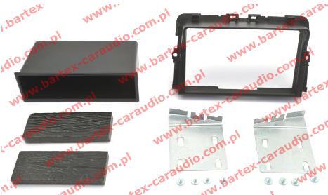 Nissan PRIMASTAR 2010-> ramka #2 pod radio 2DIN