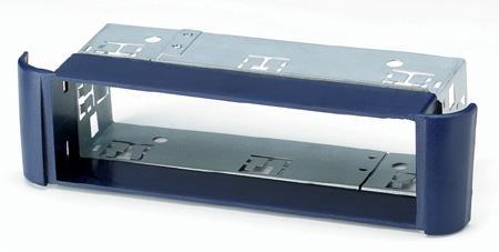SMART Fortwo 1998-2007 NIEBIESKA ramka+mocowanie radia 1DIN