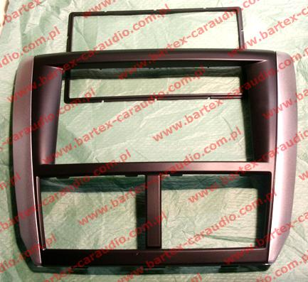 Subaru FORESTER 2007-2012 ramka-konsola pod radio 2DIN