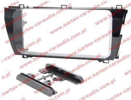 Toyota COROLLA E160 2013-> ramka EU pod radio 2DIN