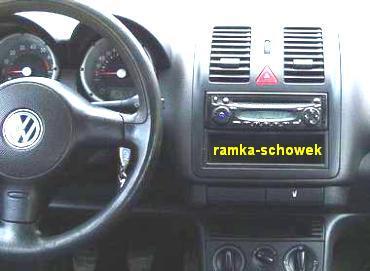 ramki radiowe g o nikowe volkswagen vw lupo 1998 2005. Black Bedroom Furniture Sets. Home Design Ideas