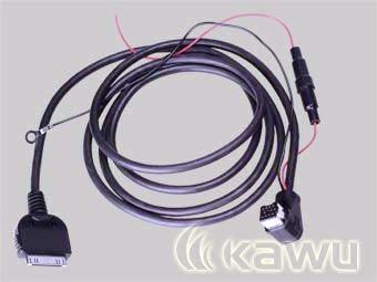# Złącze Radioodtw.PIONEER z IP-Bus <-> iPod® +zasil.12V