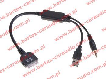 # złącze BMW radio fabryczne <-> iPod , iPhone-4