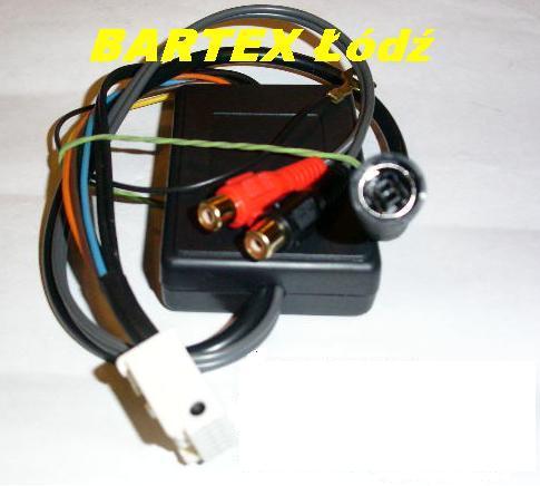 Adapter-moduł elektron. do zmieniarki CD SONY<->radio BMW-FAKRA