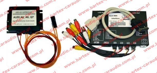 ○ Interfejsy, Adaptory, Adaptery Audio-Video, AUDI A6+Q7+inne z MMi