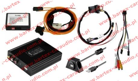 MERC z Comand NTG1 Interfejs Audio-Video_In x1+USB