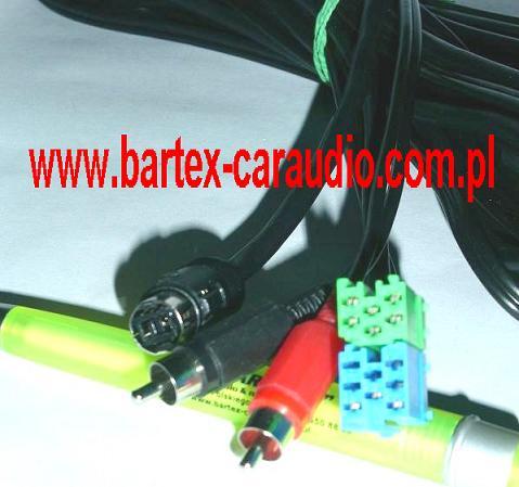 Adapter-Złącze Kabel do zmieniarki CD SONY <-> radio Merc.Benz