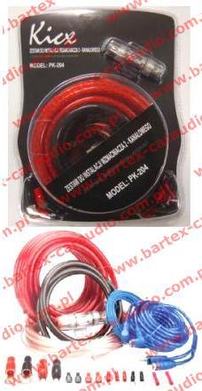 Zestaw przewodów instalacyjnych Kicx PK 204