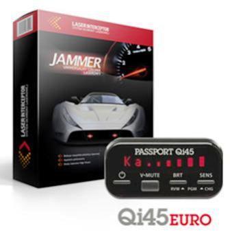 ZESTAW Jammer laserowy Laser INTERCEPTOR DUAL + Qi45 EURO