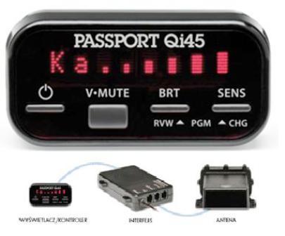 Antyradar ESCORT Passport Qi45 Euro