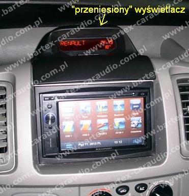 *USŁUGA: zamontowanie uniw.2DIN do Nissan PRIMASTAR 2002-2010