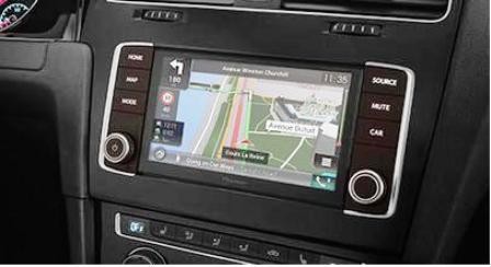 Pioneer AVIC-EVO1 do VW Golf-7 2012->