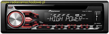 Pioneer DEH-4800FD 4x100W